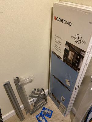 Closetmaid Top Shelf kit x 2 - closet system for Sale in Diamond Bar, CA