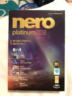 Nero Multimedia 6 in 1 software for Sale in Boston,  MA