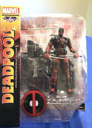 Deadpool action figure. Marvel Diamond Select for Sale in Kirkland, WA