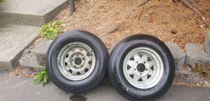 13 inch galvanized boat trailer tires for Sale in Fife, WA