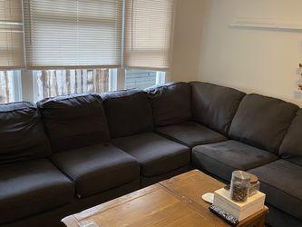 Dark Grey L Couch, Ashley HomeStore for Sale in Santa Ana,  CA