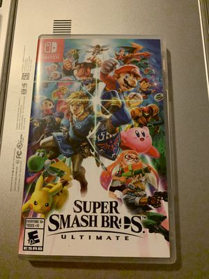 Super Smash Bros Ultimate for Nintendo Switch for Sale in Queens, NY