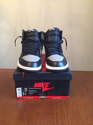 "VNDS Jordan Retro 1 ""Shadow"" size 10 2018 Release for Sale in Charlotte, NC"