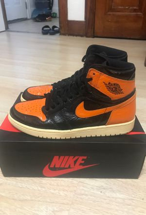 Jordan 1 shattered backboard for Sale in Dearborn, MI