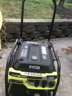 RYOBI 6500 w Generator for Sale in Washington, DC