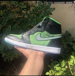 Zoom Green Jordan 1 High for Sale in Los Angeles, CA