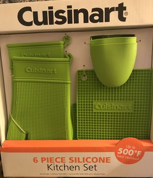 6 piece Cuisinart Silicone Kitchen Set for Sale in Pittsburgh, PA