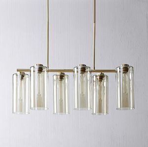 West elm cylinder chandelier for Sale in Seattle, WA