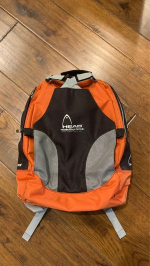 Head Tennis Backpack Bag. Holds 2 rackets for Sale in Scottsdale, AZ