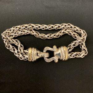 David Yurman Wheat chain Diamond Bracelet for Sale in Pompano Beach, FL