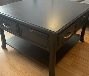 Coffee table with Built-in Storage for Sale in Brooklyn,  NY