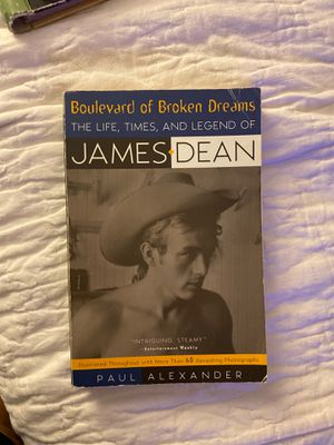 James Dean Biography Book for Sale in Los Angeles, CA