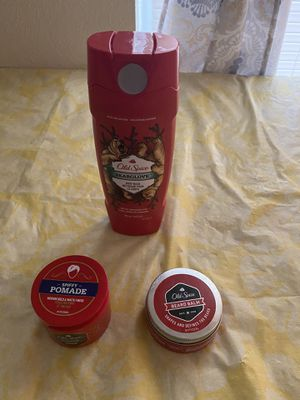 OLD SPICE Body Wash, POMADE, BEARD BALM for Sale in DeSoto, TX