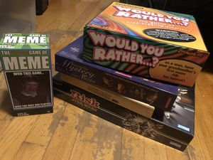 5 board games or buy separately for Sale in Dearborn, MI