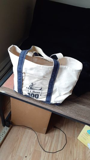 LL BEAN 100 years old boat bag for Sale in Central Falls, RI