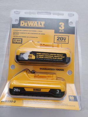 2 pilas Dewalt for Sale in Dallas, TX