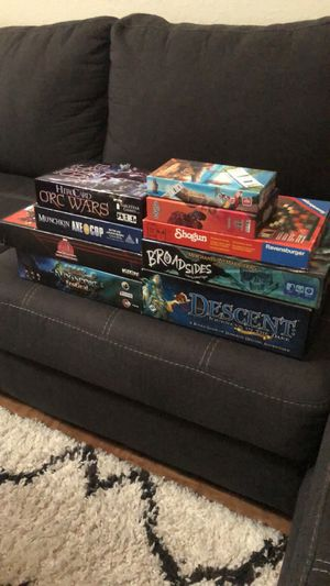 Assorted board games and tabletop games for Sale in Winter Haven, FL