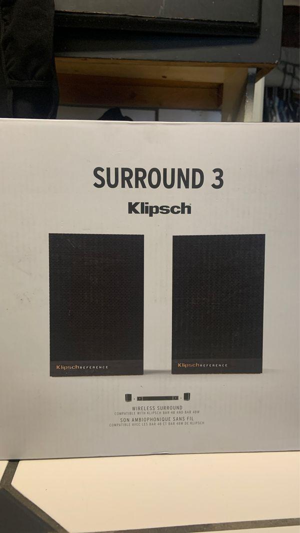Klipsch surround 3