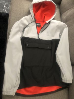 Akademiks Hoodie Jacket half Zip Up Pouch Size Men's XL $20 for Sale in Los Angeles, CA