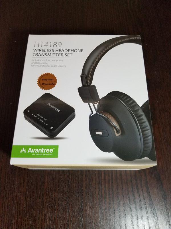 Avantree Bluetooth Receiver with Headphones