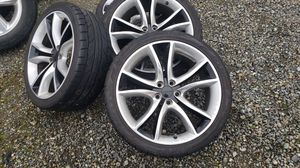 Charger oem wheels and tires 20 for Sale in Renton, WA