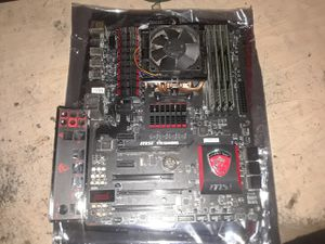 MSI 970 Gaming Motherboard + Processor + Ram for Sale in Kissimmee, FL