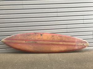 70's Freeline Surfboard Classic Single Fin Surfboard for Sale in Pacifica, CA