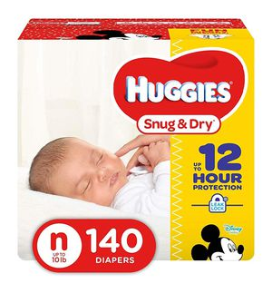 Brand New Huggies Diapers (Newborn) for Sale in Lacey, WA