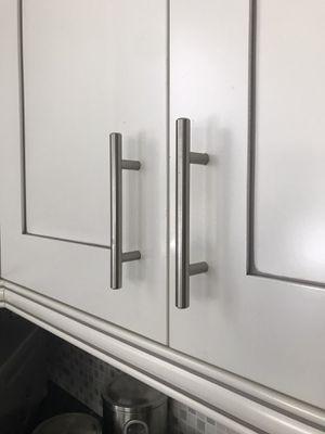 32 kitchen cupboard pulls - stainless steel for Sale in Pembroke Pines, FL