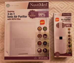 Nuvomed Desktop and Portable Air Purifiers for Sale in South Hempstead, NY