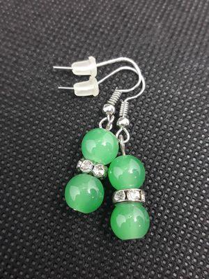 Light green earrings for Sale in La Mirada, CA