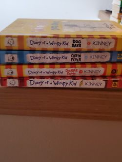 Wimpy Kid Books for Sale in Kent,  WA