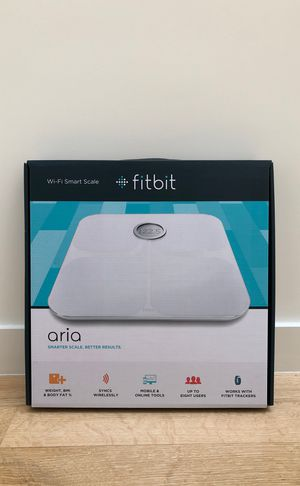 NEW- Fitbit Aria Wi-Fi Smart Scale for Sale in Dallas, TX