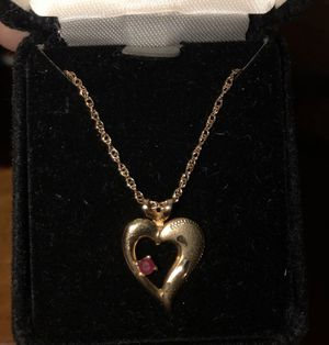 Charm and necklace for Sale in South Harrison Township, NJ