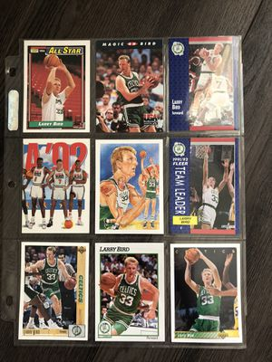 Larry bird vintage collectible cards for Sale in Culver City, CA