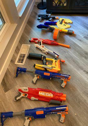 Nerf guns, k9 gun, classic star wars gun for Sale in Sacramento, CA