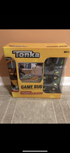 Tonka kids Game Rug. Brand new for Sale in Shelby Charter Township, MI