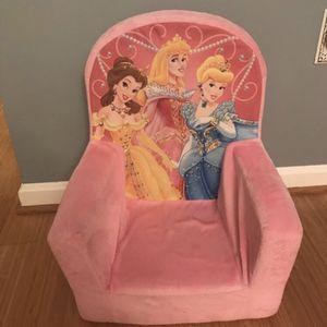 Plush Princess Toddler Chair for Sale in Woodbridge, VA