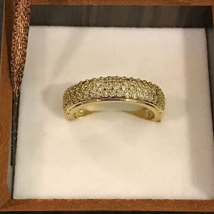 18K Gold plated Engagement Ring - Multi Diamond 💍 Fashion Jewelry for Sale in Sacramento, CA