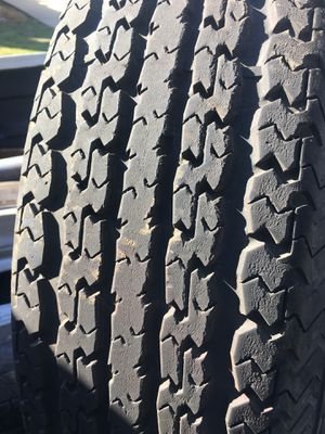 8 lug rim and tire 235/80R16 for Sale in E RNCHO DMNGZ, CA