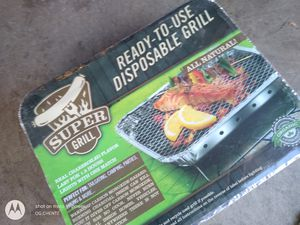 NEW DISPOSABLE BBQ GRILL for Sale in Chino, CA