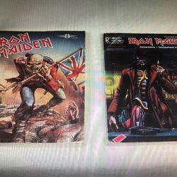 IRON MAIDEN - POWERSLAVE/SOMEWHERE IN TIME/PLAY IT LIKE IT IS - GUITAR TAB BOOK for Sale in Layton,  UT