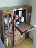 Cute antique cabinet. Great to be used to store your china and can be used as a desk. for Sale in Kirkland, WA