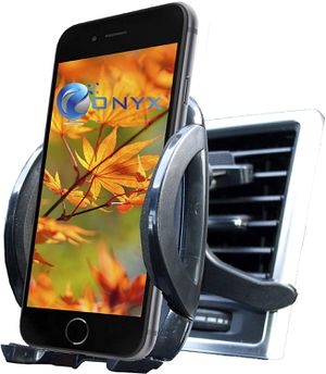 """Air Vent Car Mount Adjustable Holder Cradle for Smartphone unto 4.0"""" Wide - Onyx for Sale in North Potomac, MD"""