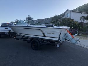 Volvo 270 Outboard ! Invader boat for Sale in San Marcos, CA