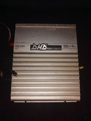 DHD Power Cruiser Amp NTX-2004 400 watts - 4 Channel Amplifier for Sale in Oakland Park, FL
