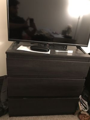 IKEA dresser + Insignia TV + Chair + IKEA desk + Queen mattress + bed frame for Sale in Chicago, IL