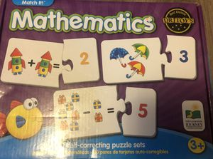 Mathematics Puzzle Game for Sale in Seville, OH