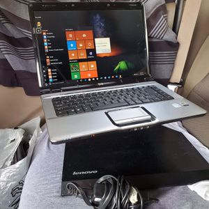 HP laptop 15.6 inch 4GB RAM 500GB 2.3gzh window 10 home with charger all work 100% no password or account attached all work 100% for Sale in Anaheim, CA