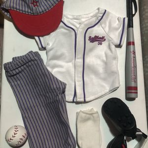 American Girl Doll Clothes (Baseball/Softball Outfit) for Sale in Simi Valley, CA
